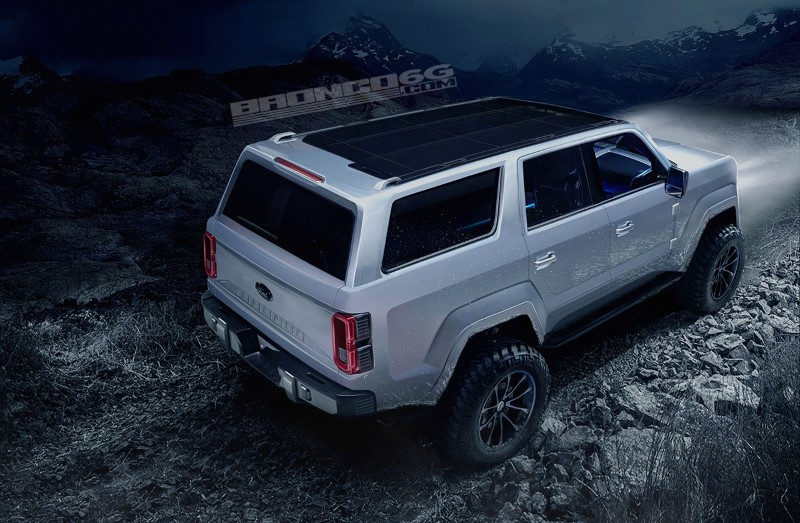 2020 Ford Bronco Redesign Specs Price Release Date