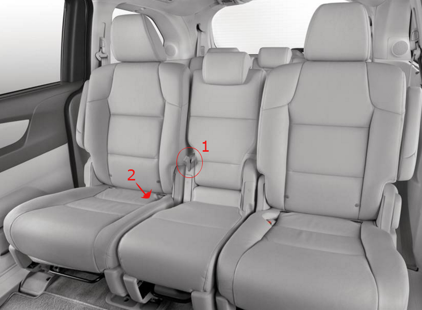 How To Remove Second Row Seats In The 2016 Honda Odyssey 2