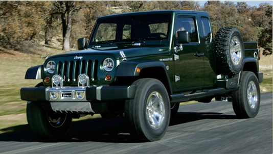 Jeep Pickup Truck Possibly In The Works For 2016