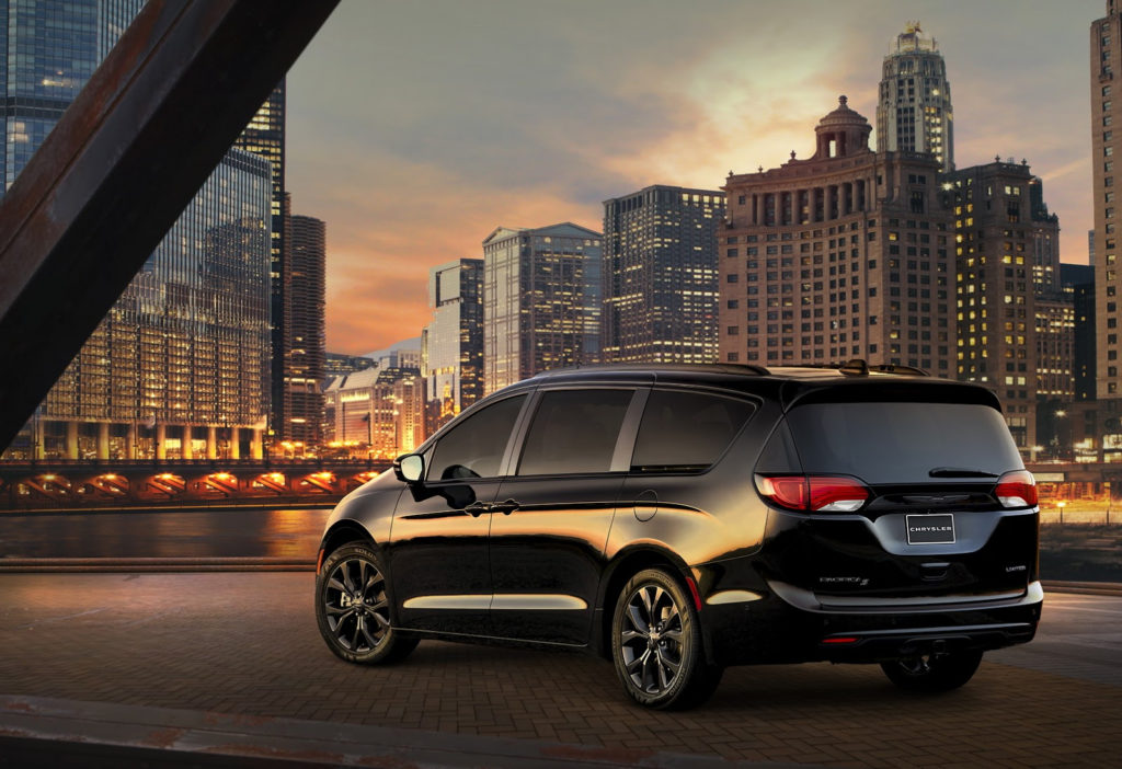 New S Appearance Pack Gives The Chrysler Pacifica More