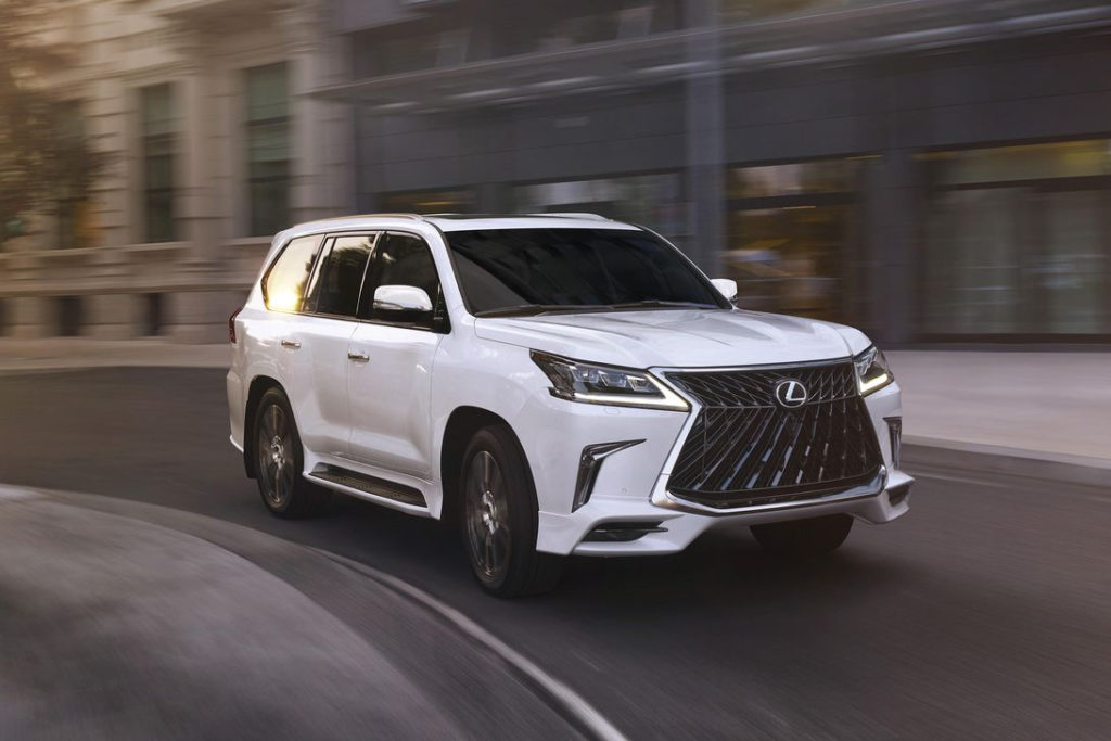 2020 Lexus LX 570 Picks Up New Sport Package For A Bit